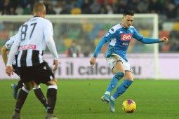 Napoli gagal menang lagi ketika ditahan imbang lawan Udinese