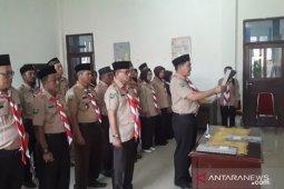 Satuan karya Pramuka KB Sambas dilantik