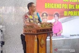 Kapolda Babel gelar kunjungan kerja di Polres Bangka