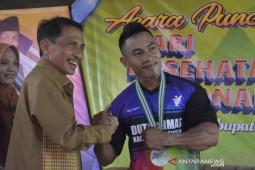 Rangkaian hari kesehatan nasional, Bupati Gorontalo kukuhkan Duta Germas