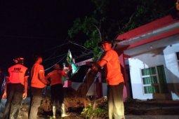 Lima kecamatan di Jember diterjang angin kencang dan longsor