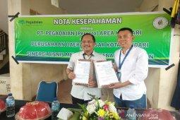 PD Pasar- Penggadaian taken MoU sinergi modal usaha