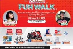 Telkomsel siapkan hadiah utama dua motor pada jalan sehat di Singkawang