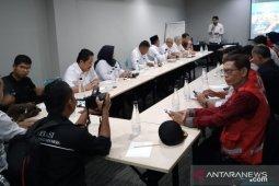 PMI-Amcross-USAID kaji sistem komunikasi kebencanaan di Kota Sukabumi