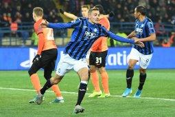 Atalanta pecundangi Shakhtar untuk temani Manchester City