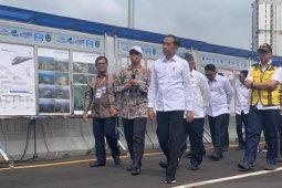 Jokowi: Tol layang Japek kurangi kemacetan hingga 30 persen