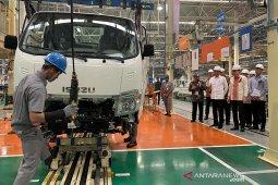 Mobil pick-up buatan pabrik Isuzu Karawang bakal diekspor ke 20 negara