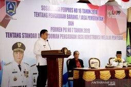 Wabup HSS buka sosialisasi peraturan pengadaan barang dan jasa pemerintah