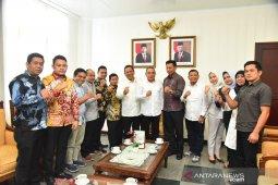 Gubsu undang wali kota dan pimpinan DPRD Padangsidimpuan