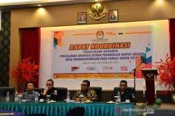 KPU Padangsidimpuan gelar rakor menyongsong Pilkada serentak