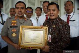 Gubernur DKI beri penghargaan ke Polres Jakarta Utara