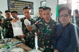 Satgas Pamtas gagalkan penyelundupan sebanyak 51 kilogram sabu