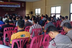 Polres Rejang Lebong siagakan ratusan personel pengamanan Natal