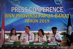 BNNP lampaui target penanganan kasus narkoba di Papua Barat
