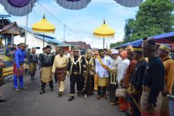 Pagelaran Adat Batas Negeri di Istana Kusuma Negara Sekadau