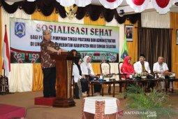 Pejabat Pemkab HSS diberikan sosialisasi hidup sehat