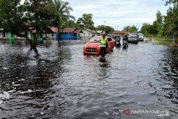 Evakuasi warga, ratusan rumah di Sungai Ambawang terendam banjir