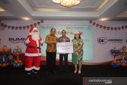 BUMN hadir,  Askrindo-PGN beri bantuan panti asuhan rayakan Natal