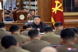 Dalam rapat partai, Kim Jong Un menekankan soal persenjataan