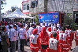 Ratusan relawan PMI peringati hari relawan