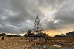 Singkawang bangun replika pagoda 20 meter untuk Imlek dan Cap Go Meh 2020