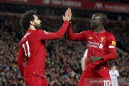 Gol Salah, Mane  antar Liverpool menang meyakinkan atas Sheffield United