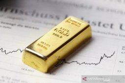 Harga emas melonjak 28,3 dolar, dipicu oleh meningkatnya kekhawatiran virus
