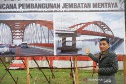 Pembangunan Jembatan Mentaya Kalteng ditargetkan mulai 2021
