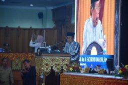 Pidato gubernur dalam sidang paripurna HUT ke-63 Provinsi Jambi