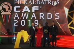 Sadio Mane meraih penghargaan Pemain Terbaik Afrika 2019
