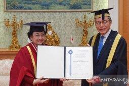 Megawati Soekarnoputri terima gelar doktor kehormatan dari Universitas Soka Jepang