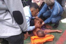 Aksi ASN Bengkalis terjun ke laut viral di medsos