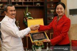 Gubernur Riau tawarkan investasi perkebunan dan perikanan ke Tiongkok