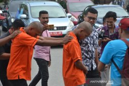 Polisi tetapkan dua oknum  pelaku Curanmor sebagai tersangka