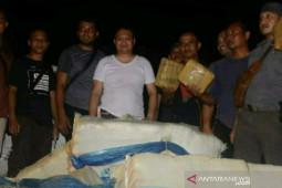 Polisi amankan 250 kilogram ganja, satu tersangka ditembak