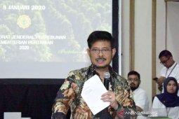Mentan SY Limpo  minta penegakan hukum terhadap pelaku konversi lahan pertanian