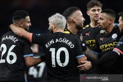 Man City lucuti tuan rumah Aston Villa 6-1