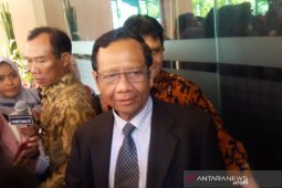 Mahfud memastikan kapal China sudah di luar ZEE Indonesia
