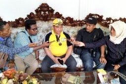 Bupati : Gubernur Malut terkesan