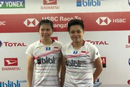 Greysia/Apriyani lewati hambatan pertama di Indonesia Masters 2020