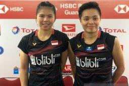 Indonesia Masters - Greysia/Apriyani hadapi musuh lama asal Jepang di perempat final