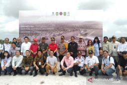Sejumlah calon investor asing bandara Singkawang siap bekerjasama