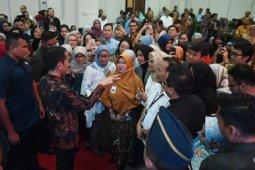 Presiden berdialog dengan peserta Integrated Digital Network Bappenas