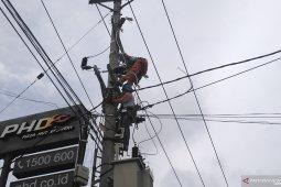 Kota Jambi kekurangan 6.000 titik lampu penerangan jalan umum