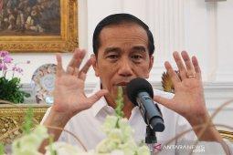 Presiden Jokowi sebut UU baru KPK tidak melemahkan