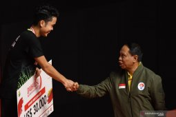 Anthony buka keunggulan bagi Indonesia