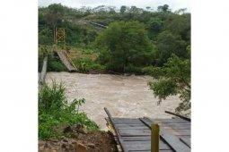 29 orang jadi korban jembatan putus di Kaur Bengkulu