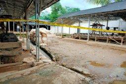 Penambangan ilegal, Polda Banten periksa saksi dan amankan barang bukti