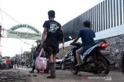 Lahan sempadan Kali Bekasi di PGP Bekasi bakal disulap mirip Banjir Kanal Timur