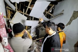 Gas cylinder explosion in West Java's Cimahi destroys two houses